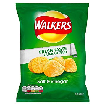 Walkers Salt and Vinegar Crisps